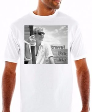 Anthony Bourdain Travel T Shirt