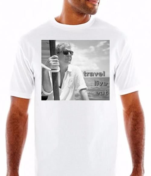 Anthony Bourdain Travel T Shirt