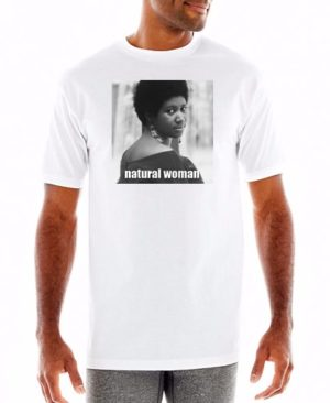 Aretha Franklin Natural Woman T Shirt