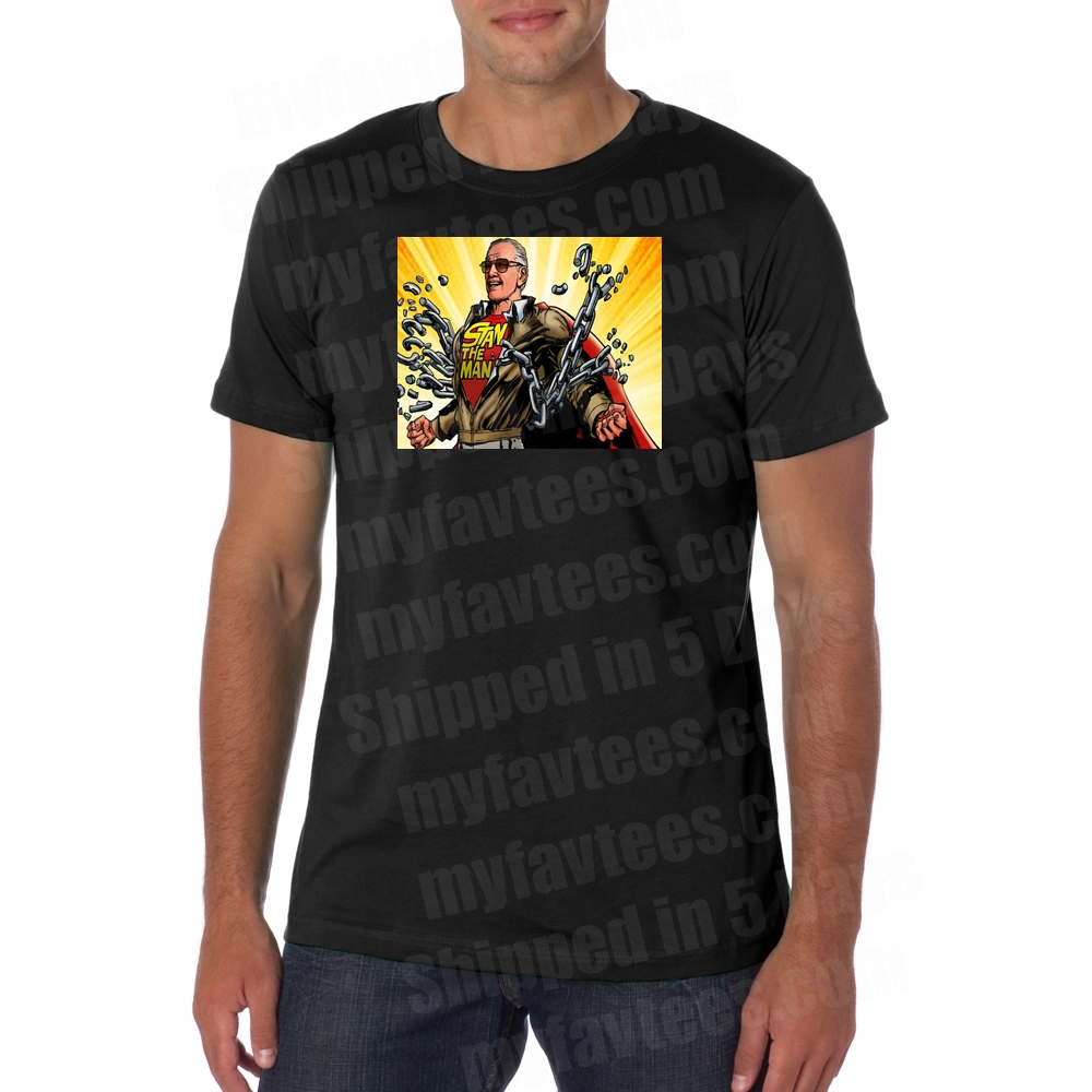 6dcef959 Stan Lee Marvel T Shirt $18.99 Free Shipping myfavtees.com Official