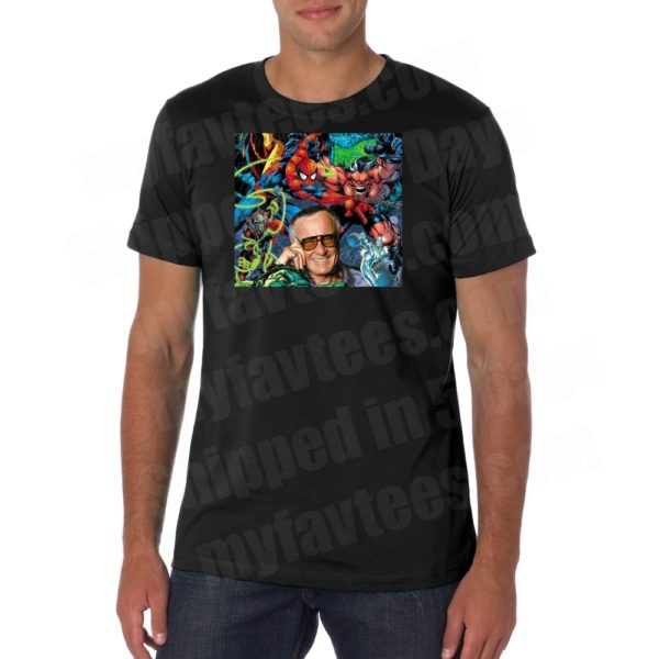 Stan Lee Comic Book T Shirt