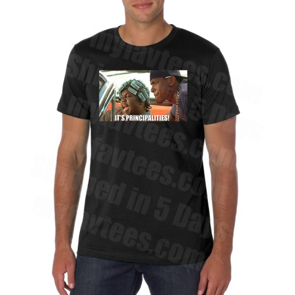 Friday Movie Big Worm Principles T Shirt