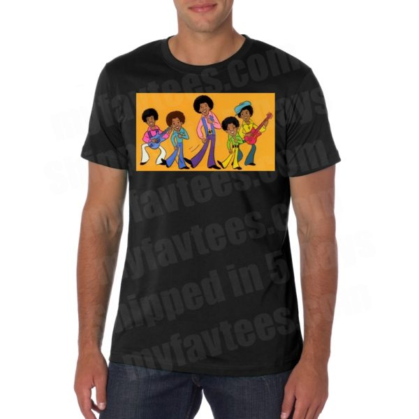 Jackson 5 Cartoon T Shirt