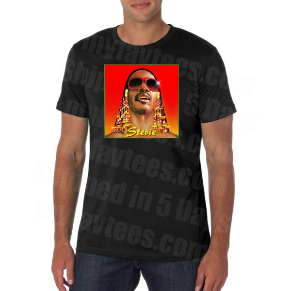 Stevie Wonder Hotter Than July T Shirt