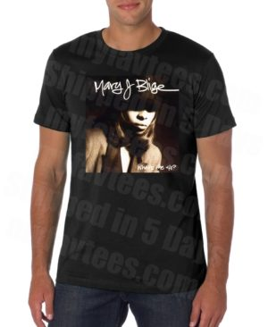 Mary J Blige What's The 411 T Shirt
