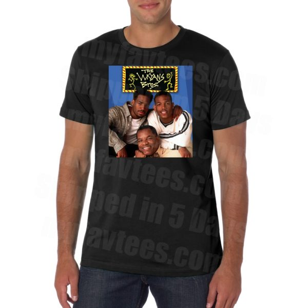 John Witherspoon Wayans Bros Pops T Shirt