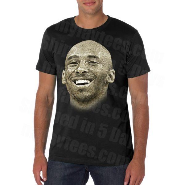 Kobe Bryant Face T Shirt