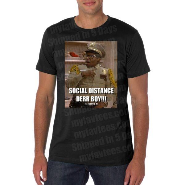 Martin Otis Social Distance T Shirt