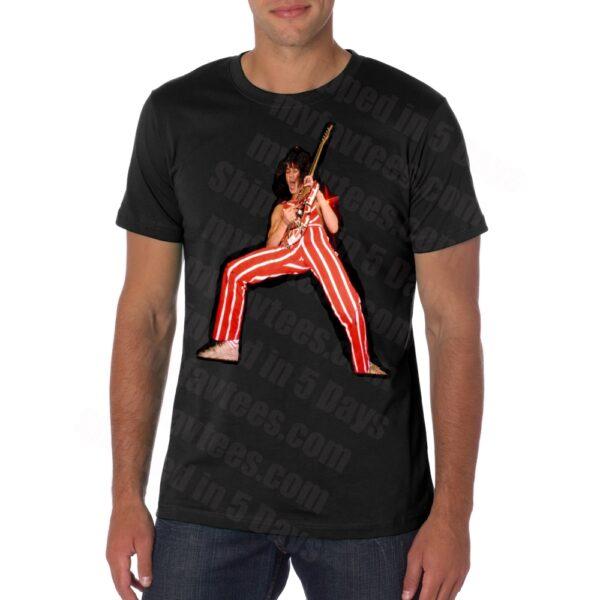 Eddie Van Halen Guitar T Shirt
